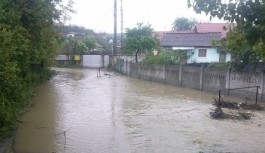 Avertizare de inundații în Gorj