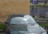 Mașina lui Cârciumaru, pe un loc rezervat autoturismelor persoanelor cu handicap