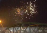 VIDEO Focul de artificii a fost urmărit de mii de târgujieni