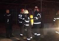 Incendiu la subsolul unui bloc din centrul municipiului Târgu Jiu