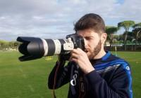 Răduț a renunțat la mingea de fotbal pentru fotografie