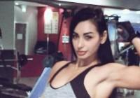Sexy Silvana Brăgaru își modelează corpul după sărbători