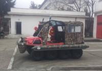 Vezi autospeciala pompierilor care a costat 50.000 de euro