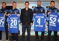 Fotbaliștii transferați de Pandurii au fost prezentați oficial
