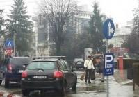 Hal de parcare în centrul municipiului Târgu Jiu