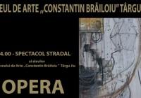 """Spectacol de teatru în stradă, prezentat de liceenii de la """"Constantin Brăiloiu"""""""