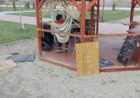 Foișorul inteligent a fost reparat de lucrătorii Primăriei Târgu Jiu, după ce a fost vandalizat
