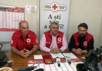 41 de maternități, echipate cu pătuțuri și lenjerii de către Crucea Roșie Română. Ce se întâmplă la SJU Târgu-Jiu