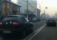 VIDEO Depășire periculoasă pe bulevardul Ecaterina Teodoroiu