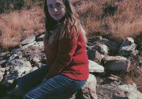 """Romina Vieru, eleva poetă de la Liceul Teologic. """"Utopii""""-ultima sa creație"""
