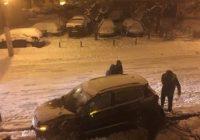Accident în Târgu Jiu între un SUV și un autocar
