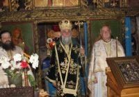 Mitropolitul Olteniei a slujit la Mănăstirea Crasna