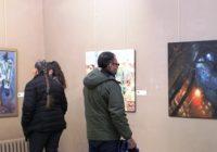 """Expoziția """"100 de artiști pentru 100 România"""" a cucerit bulgarii din Plevna!"""
