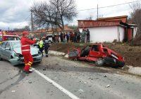 Accident cu victimă încarcerată la Lupoaia, Motru