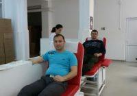 Cinci salvatori din cadrul ISU Gorj au donat sânge pentru o polițistă din Constanța