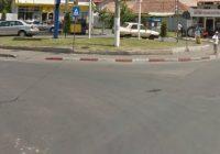 Două noi intersecții cu sens giratoriu în Târgu Jiu