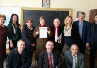 """Profesorii din Cercul de istorie Valea Motrului-Valea Jiului au semnat declarația de Unire cu Basarabia: """"Frații în veci vor fi frați!"""""""