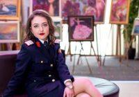 """Olimpica Teodora Grecu a ales cariera militară și studiază la Alba-Iulia: """"Am învățat să fiu independentă, să mă descurc de una singură"""""""