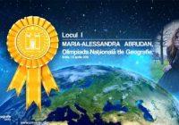 Medalie de aur pentru olimpica Maria-Alessandra Abrudan de la CNTV! Află la ce olimpiadă a participat