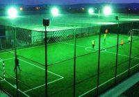 Teren de sport cu gazon sintetic și nocturnă în orașul Turceni