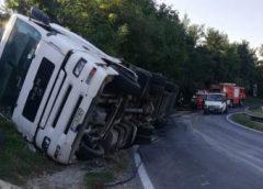 Șofer de TIR din Gorj, mort într-un accident