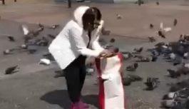 VIDEO Gest frumos al cântăreței Niculina Stoican. Ce a făcut aceasta în centrul municipiului Târgu Jiu